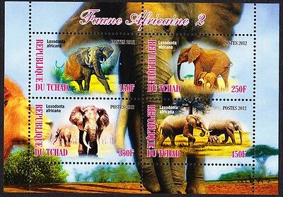 Chad Wildlife Sheetlet issue No 2