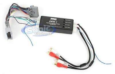 NEW PAC AOEM-GM24 Aftermarket Amplifier Interface for Select 2004-Up GM Vehicles