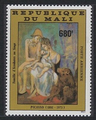 Mali Pablo Picasso 'Family of Acrobats with Monkey' 1v SG#966 SC#C477