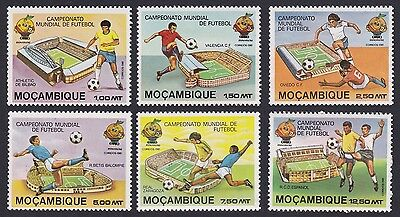 Mozambique World Cup Football Championship Spain 6v SG#849/54 SC#725-30