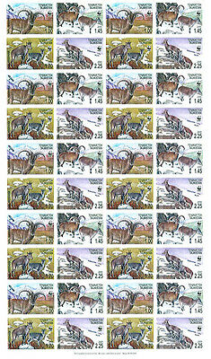 Tajikistan WWF Bharal Full Sheet of 10 sets 40 stamps SG#282/85 SC#266 a-d
