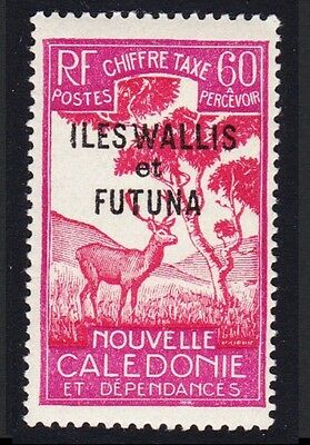 Wallis and Futuna Antelope Postage Due 1v 60c SG#D94