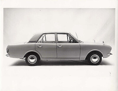 Ford Cortina Mk2 Four Door Saloon De Luxe,  Photograph.