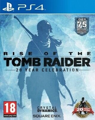 Rise of the Tomb Raider: 20 Year Celebration (PS4) PEGI 18+ Adventure