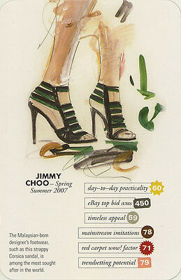 Swap Trade Card: Jimmy Choo. New. Fashion.