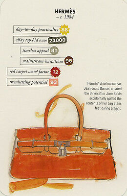 Swap Trade Card: Hermès. New. Fashion.