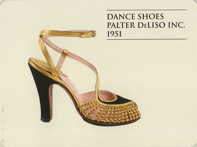 Single Swap Game Card: Palter DeLiso Dance Shoes. Fashion.