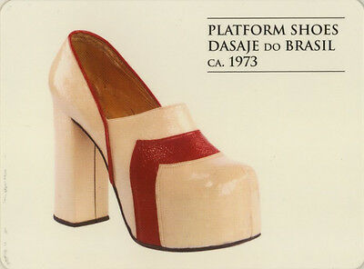 Single Swap Game Card: Dasaje Do Brasil Shoes. Fasion.