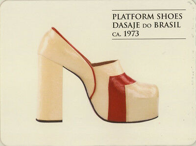 Single Swap Game Card: Dasaje Do Brasil Shoes. Fashion