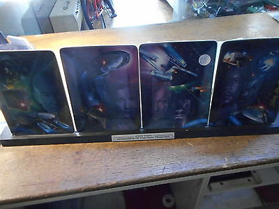 Star Trek Defenders of the Final Frontier Plates (Franklin Mint)