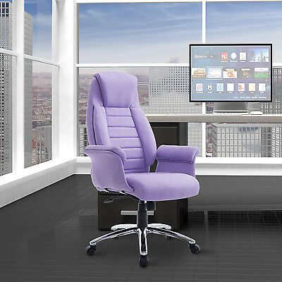 HOMCOM Executive Office Chair Ergonomic Padded High Back Computer Seat