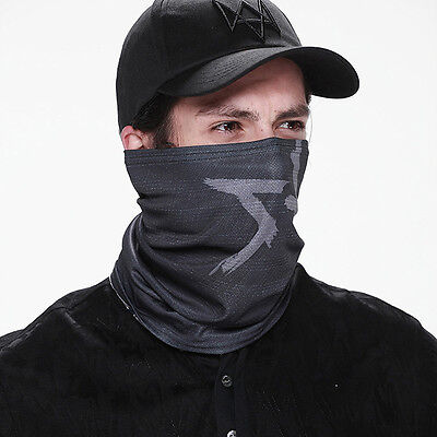 Fashion WATCH DOGS Tube MASK + CAP Aiden Pearce Cosplay Watchdogs Halloween