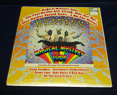 Beatles Magical Mystery Tour CAPITOL Records MOST RARE MONO SEALED LP! 1st press