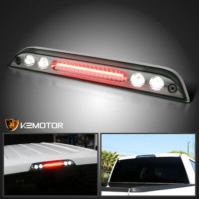2015-2016 Ford F150 Smoke LED Rear 3rd Brake Lights Tail Lamps
