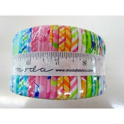 Quilting Fabric Jelly Roll - Moda - Brighten Up