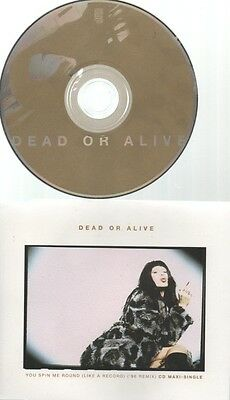 """PETE BURNS   DEAD OR ALIVE   Rare 1996 Aust Only CD Single """"You Spin Me Round"""""""