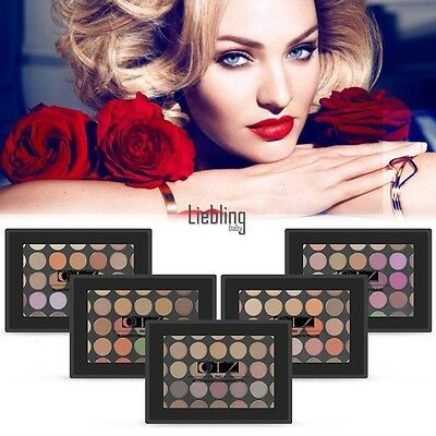 New Professional Makeup 35 Colors Shimmer/Matte Eye Shadow Palette Set Cosmetic