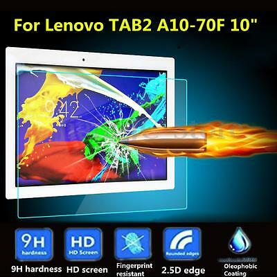 """9H Tempered Glass Screen Protector For Lenovo Tab2 A10-30 / A10-70F 10"""" Tablet"""