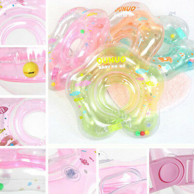 1 x Lifebuoy Aerated Baby Infant Swimming Safety Ring Kid Float Collar Tube Neck