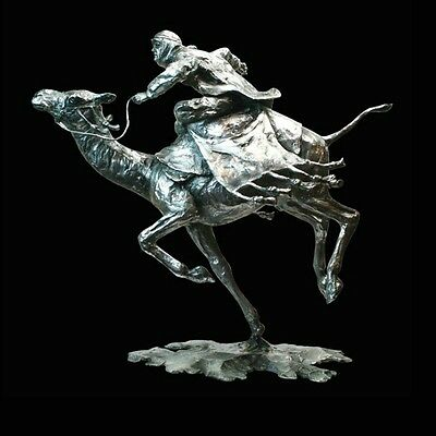 Lawrence of Arabia Sands of the Sahara Solid Stainless Steel Sculpture [934]