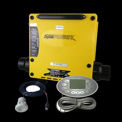 Spa Quip / Davey Spa System - Spa Power SP1200 3.5Kw - Pack & Topside