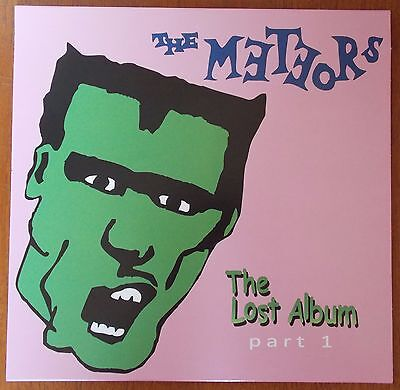 "THE METEORS - The Lost Album Part 1  - 10"" LP (BRAND NEW) Psychobilly Vinyl"