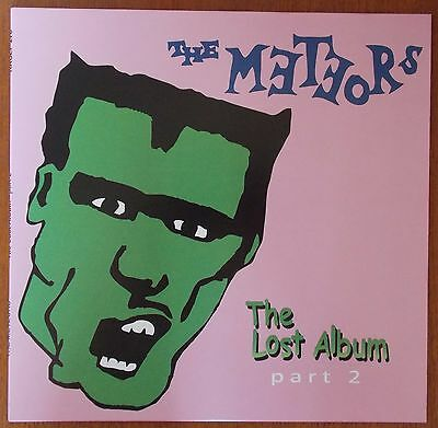 "THE METEORS - The Lost Album Part 2  - 10"" LP (BRAND NEW) Psychobilly Vinyl"