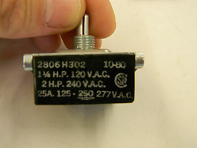 New Ark-Les 4 Postion Rotary Switch 2806H302 1.25hp 120vac 2hp 240vac 1D4