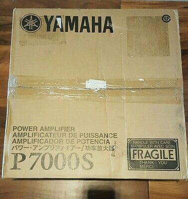 Yamaha P7000S Two-Channel Power Amplifier