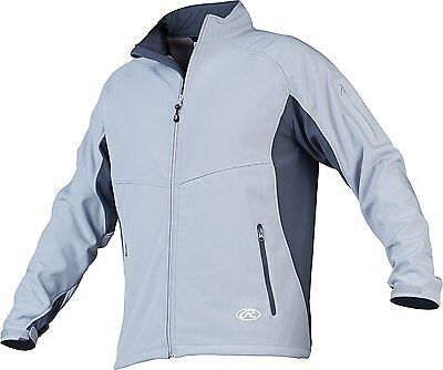 Rawlings REIGN Thermal Jacket Blue Gray XXX Large