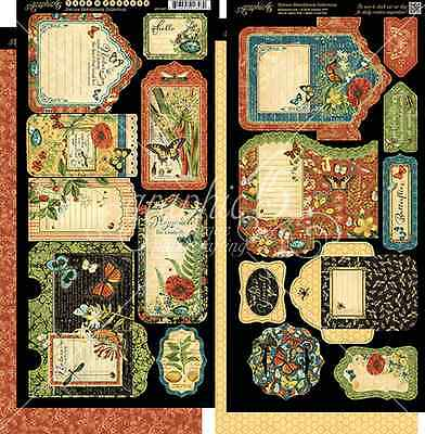 PREORDER Graphic 45 Nature Sketchbook Pockets and Tags