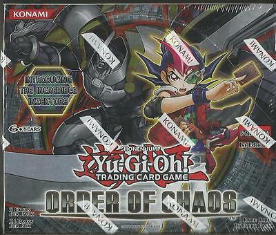 YU-GI-OH! ORDER OF CHAOS 1st EDITION FACTORY SEALED BOOSTER BOX 24 Packs