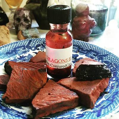 Dragon's Blood Oil-Hoodoo, Wicca-Power, Love, Protection, Aphrodisiac,Strength