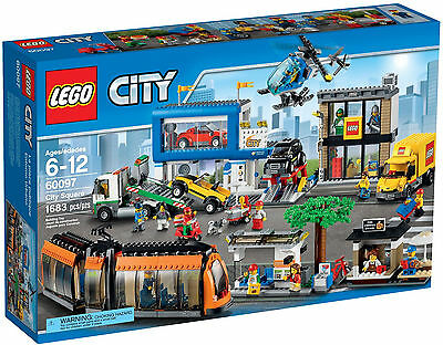 2015 Lego City 60097 City Square, New & Sealed, Great Gift!