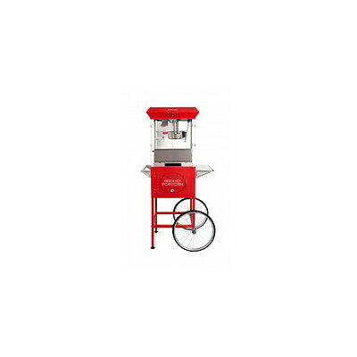 Popcorn Machine Cart Red