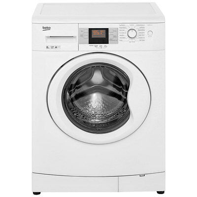 Beko WMB81243LW A+++ 8Kg 1200 Spin Washing Machine White New from AO