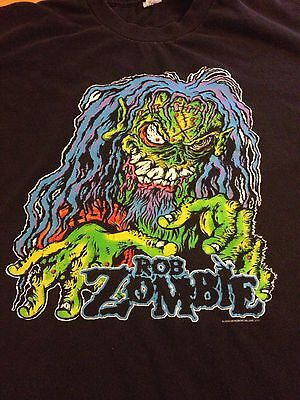 Rob Zombie T Shirt 2004 Demonoid Deluxe Size XL