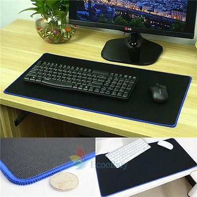 Large Gaming Mouse Pad Computer Rubber Pro Keyboard Mat for PC Laptop 60*30CM #