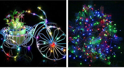 Mixed Color 50M 300LED Outdoor Home LED Fairy String Lights Xmas Party Decor