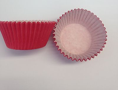 Paper Cupcake Fairy Cases  Red  51mm x 38mm Bulk Buys 360 cases per box