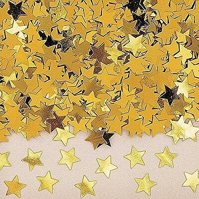 Amscan Stardust Gold Confetti Stars Table Party Decoration 14g pack of 1