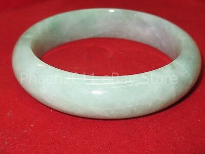 Rare Holy 100 % Green Jade Stone Bracelet Magic Lucky Power Thai Buddha Amulets