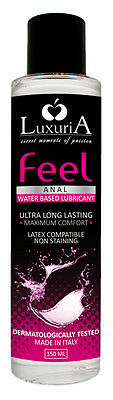 Feel Anal Luxuria 150 ml, lubricante especial anal