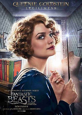 Fantastic Beasts & Where To Find Them A4 & A3 posters Opt 8 Percival Graves