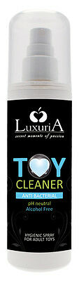 Toy Cleaner Luxuria 120 ml, limpiador de juguetes sexuales