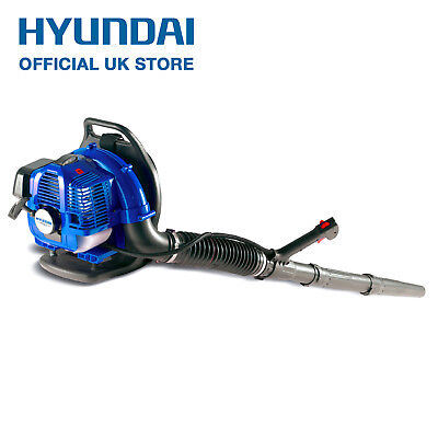 Petrol Backpack Leaf Blower 33cc 117mph 1.2hp Full Harness Hyundai HYB33