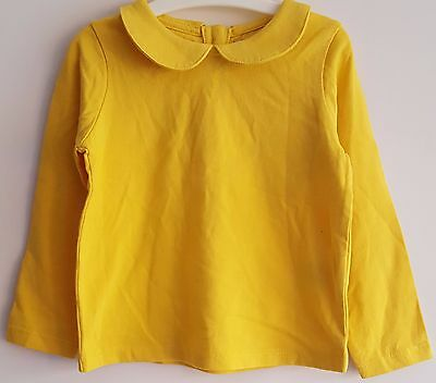 "Baby Toddler Girls ""ex M&s"" Long/short Sleeve Round Collar Top"