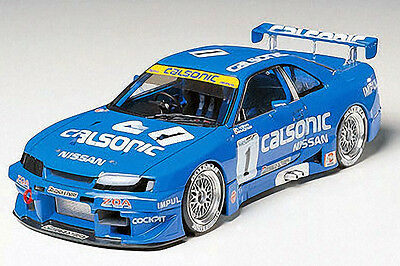 Tamiya Model kit 1/24 Calsonic Nissan Skyline GT-R