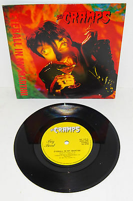 "THE CRAMPS EYEBALL IN MY MARTINI 1991 BIG BEAT 1st PRESS 7"" + P/S --- UNPLAYED"