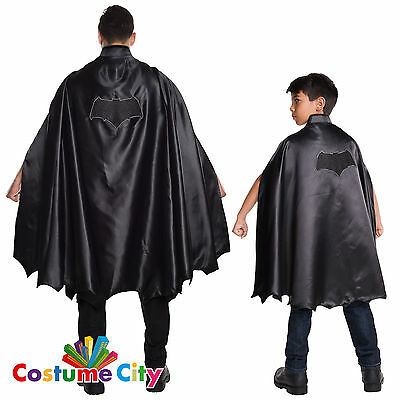 Adults Childs Dawn of Justice Batman Cape Fancy Dress Costume Accessory